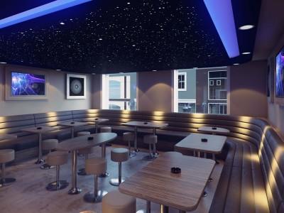 Kruidentuin Coffeeshop - Nijmegen, Niederlande- 3D render