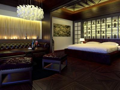 Hoteleinrichtung - 3D render